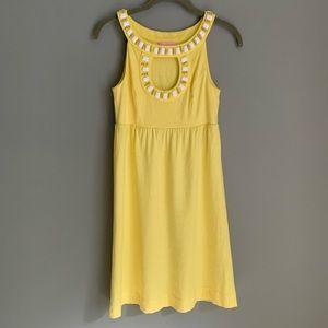 XS Lilly Pulitzer Grace Dress in Starfruit Yellow